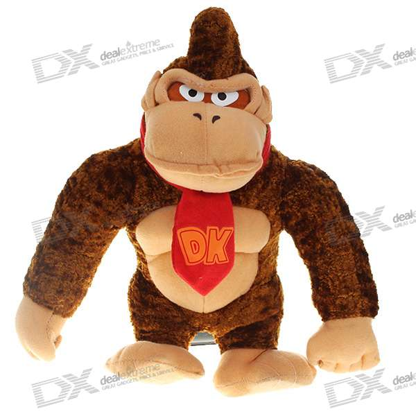 Super Mario Figure Plush Doll - Donkey Kong