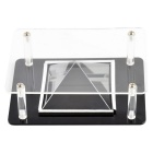 DIY Acrylic Holographic 3D Display Case for Smart Phones - Black
