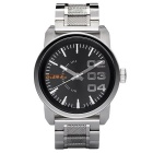 Genuine Diesel MEN'S WATCH DZ1370 Quartz Movement - Silver
