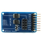 2.4GHz Wireless Transceiver NRF24L01 Módulo adaptador 3.3V / 5V para Arduino Compatible