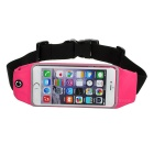 Sports Adjustable Nylon Waist Band for IPHONE 6 / 6S PLUS - Deep Pink