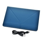 "Bluetooth V3.0 Caso de teclado de 59 teclas para 7 ~ 7,85 "" Tablet PC - Deep Blue"