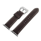 Italian Leather Watchband w/ Screwdriver for Apple Watch 38mm - Brown