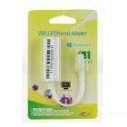 Micro USB to RJ45 Ethernet Adapter - White