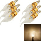 YouOkLight E14 3W LED Candle Bulb Warm White Light 280lm 6-SMD (6PCS)