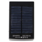 12000mAh Solar Powered Power Bank for Smart Phone / Tablet / GPS / Digital Camera + More