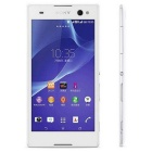 "Sony Xperia C3 (S55U) 5.5"" Quad-Core Android 4.4 WCDMA Bar Phone w/ 8GB ROM - White (EU Plug)"