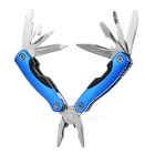 Mini Multifunctional Stainless Steel Pliers - Blue + Black