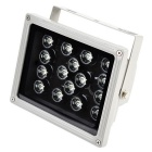 18 ~ 48W 4320lm 7000K 16 - LED réglable Cool White Strobe Light pour caméras CCD ( 220V )