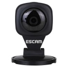 "ESCAM Diamond QF506 1/4"" CMOS 1MP 720P P2P IP Camera - Black (UK Plug)"