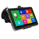 "TiaiwaiT 7"" HD MT8127 Quad-core Android 4.4 Car GPS Navigator w/ BT / Wi-Fi / FM - Black (RU-Map)"