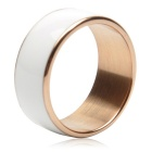 TIMER MJ2 Waterproof Wearable NFC Smart Ring - White (No Need to Charge / 12# Size)