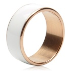 TIMER MJ2 Waterproof Wearable NFC Smart Ring - White (No Need to Charge / 10# Size)