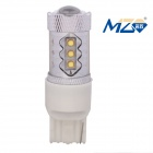 MZ T20 80W White 16-XT-E LED Car Backup Light w/ Constant Current
