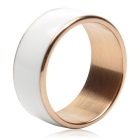 TIMER MJ2 Waterproof Wearable NFC Smart Ring - White (No Need to Charge / 8# Size)