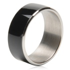 TIMER MJ2 Waterproof Wearable NFC Smart Ring - Black (No Need to Charge / 11# Size)