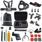 27-In-1 Hot Sports Camera Accessories Kit for GoPro Hero - Black