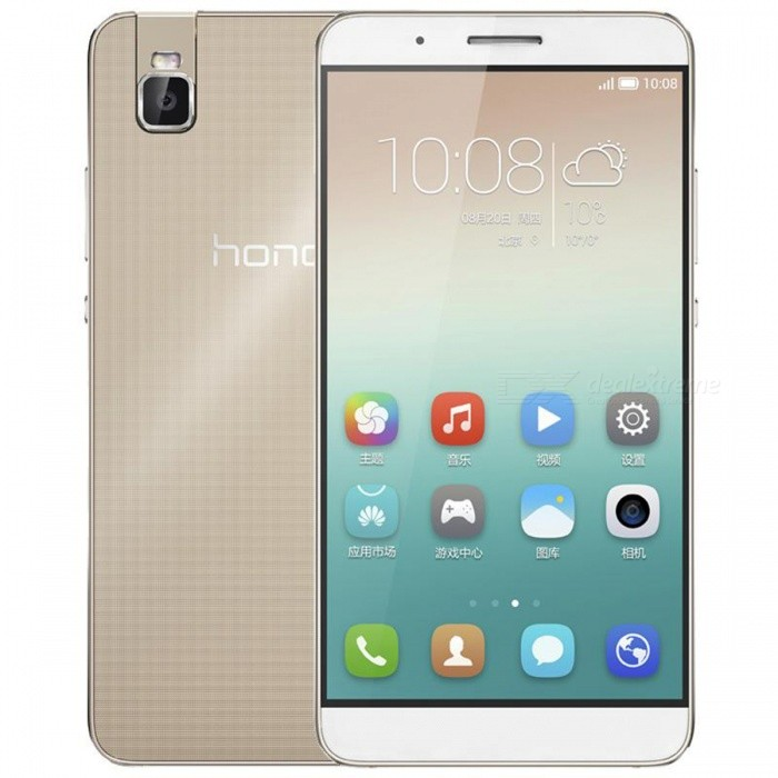 HUAWEI Honor 7i EMUI 3.1 4G Phone w/ 3GB RAM, 32GB ROM - Golden
