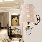 Home Decoration Wall Mount Fabric Covering Light (AC 100~240V)