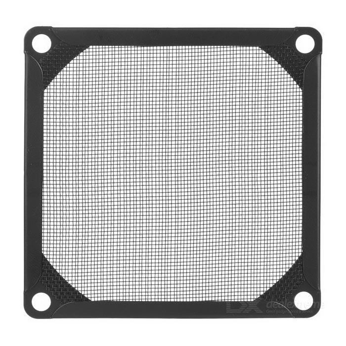 Akasa Aluminum Fine Mesh Dust-Proof Fan Filter - Black (8cm)Hardware Cooling Gears<br>Form ColorBlackQuantity1 DX.PCM.Model.AttributeModel.UnitShade Of ColorBlackMaterialAluminumFan Size8 DX.PCM.Model.AttributeModel.UnitPacking List1 x Fan filter<br>