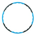 Exercise Outdoor Play Detachable Health ABS Hoola Hoop - Black + Blue