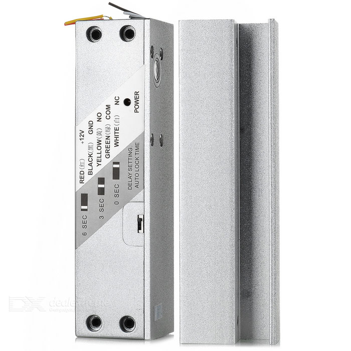 TA-228U Door Access Control Steel Electric Lock - Silvery White