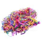 Colorful Grenade Shape Spider Silk Ribbons Throw Streamer - Multicolor