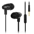 KEEKA V-3 con Cable auriculares intrauditivos Negro (3,5 mm)