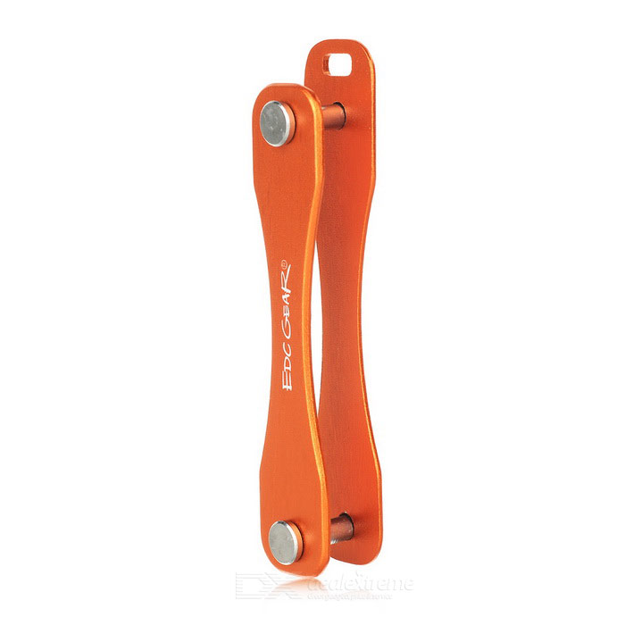 EDCGEAR Folding Aviation Aluminum Alloy Keys Holder Organizer - OrangeShovels ?Camp Tool<br>Form ColorOrangeQuantity1 DX.PCM.Model.AttributeModel.UnitMaterial6061 aviation aluminum alloyBest UseFamily &amp; car camping,Mountaineering,Travel,CyclingTypeOthers,Keys holderOther FeaturesCan hold 5 flat keysPacking List1 x Keys holder<br>
