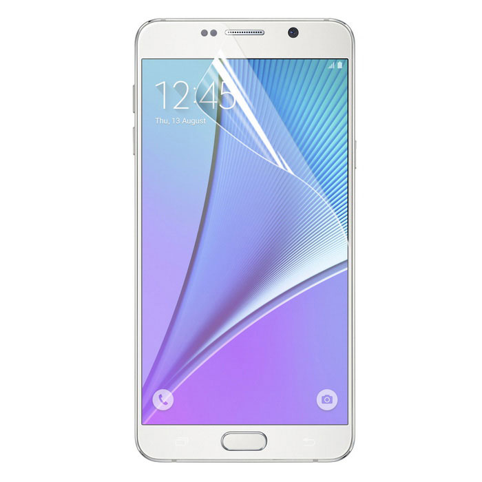 ENKAY Clear HD PET Screen Film for Samsung Note 5 N9200 - Transparent