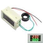 Jtron 3-digit AC 60~300V 50A Voltage Current Meter - White