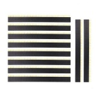 DIY 40-Pin 2.54mm Female Header - Black (10PCS)