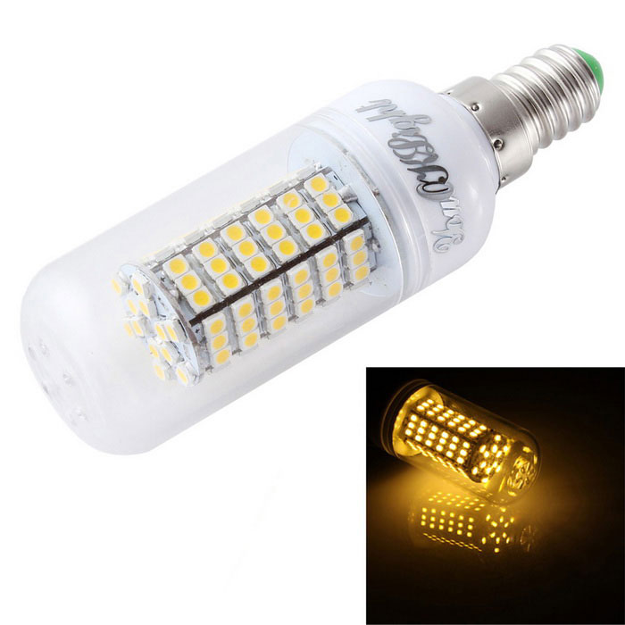 YouOKLight E14 6W LED Corn Bulb Lamp Warm White Light 580lm 120-SMD