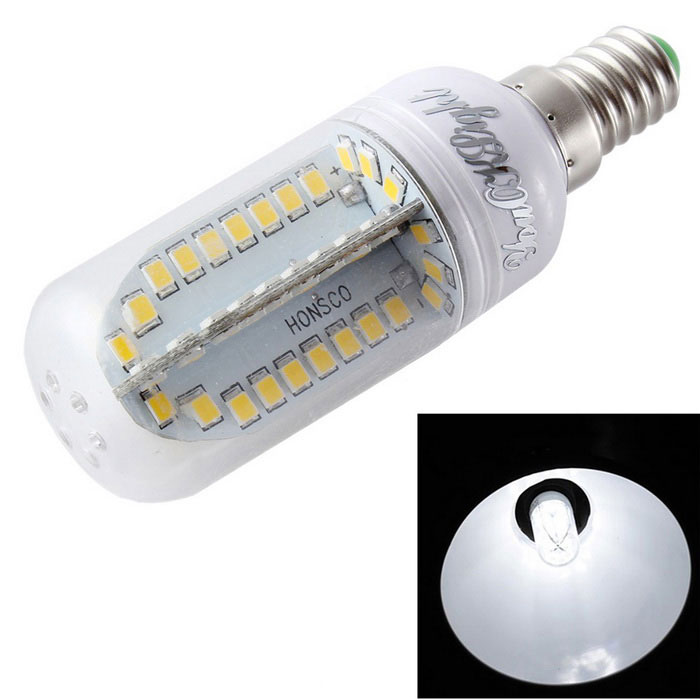 YouOKLight E14 9W LED Corn Bulb Lamp Cold White 880lm 84-SMD (85~265V)