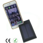 6000mAh Solar Power Bank for Samsung, Xiaomi, IPHONE + More - Black