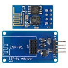 OPEN-SMART ESP-01 ESP8266 Serial Wi-Fi Wireless Module + Adapter