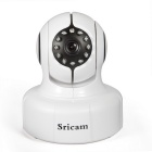 Sricam SP011 Wireless 1.0MP 720P IP Camera w/ 11-IR-LED, Wi-Fi, Two Way Audio, ONVIF, TF (US Plug)
