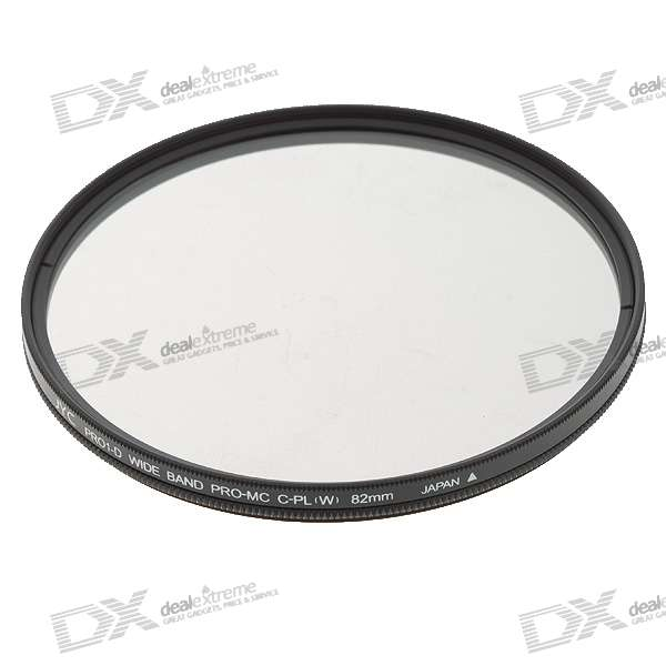 PRO1-D DMC Ultra-Thin Multi-Coated CPL Camera Filter - Black (82mm) f14506 zomei ultra slim hd 18 layer super multi coated glass density neutral gray nd1000 lens filter 82mm for digital camera fs