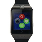 "Bluetooth V3.0 1.54"" Smart Watch Teléfono con 128 MB de RAM, ROM de 64 MB - Negro"