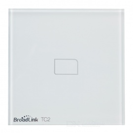 BroadLink TC2 1Gang Intelligent Touch Switch Panel - White (US/AU, AC 170-240V)