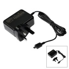Portable UK Plug / USB 1.75A Power Charger for ASUS X205T - Blackish Grey