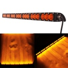 210W 21-LED Worklight Bar / Offroad 4WD SUV Driving Lamp Spot Orange Beam 17850lm 605nm