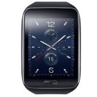 "Samsung Gear S (R750) Tizen Dual-core Watch Phone w/ 2"" Screen, Wi-Fi, GPS, ROM 4GB - Black"