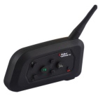 VNETPHONE V4-1-US intercomunicador de la motocicleta del bluetooth para 4 jinetes