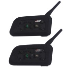 Vnetphone V6-1200-2-US Outdoor Motorcycle Helmet Bluetooth Real-time Intercom Interphones (Pair)
