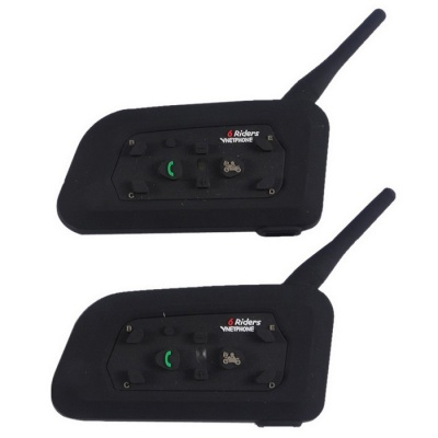 Vnetphone V6-1200-2-EU Motorcycle Helmet Bluetooth Interphones (Pair)