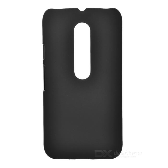 Mini Smile Matte ABS Back Case Cover for Motorola MOTO G3 - BlackPlastic Cases<br>Form ColorBlackModelN/AMaterialABSQuantity1 DX.PCM.Model.AttributeModel.UnitShade Of ColorBlackCompatible ModelsMOTO G3Packing List1 x Back case<br>