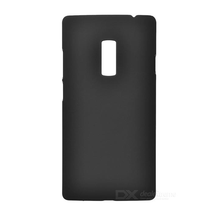 Matte Protective Plastic Back Case Cover for One Plus 2 - Black