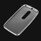 Mini Smile Ultra-thin TPU Back Case for MOTO G3 - Transparent