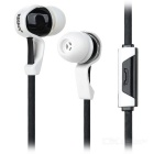 KEEKA Universal In-Ear Earphone for IPHONE / Samsung / HTC / Nokia + More - Black (3.5mm)